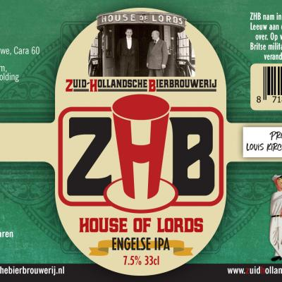 Zhb House Of Lords Engelseipa Etiket 2019 Wm Louis Kirchmann